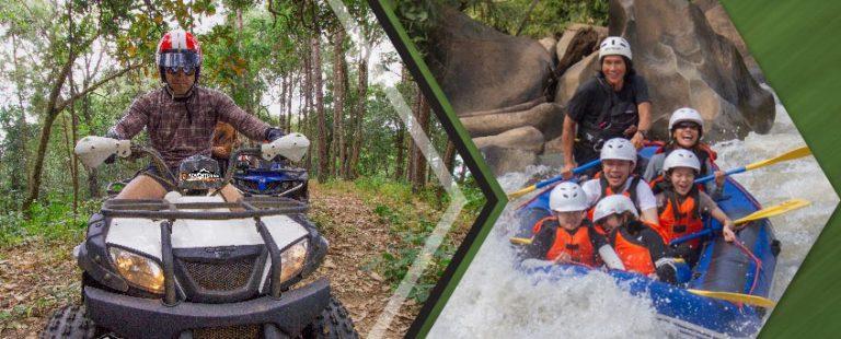 ATV quads 3 horas y Rafting 10 km.