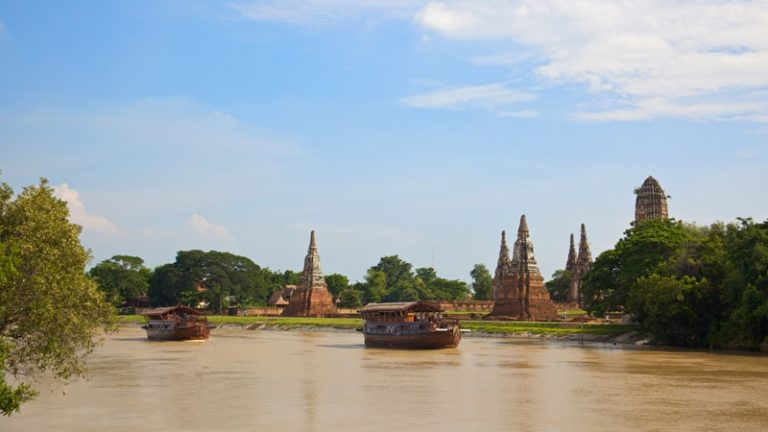 Lo Más Destacado de Ayutthaya a bordo del Thanatharee