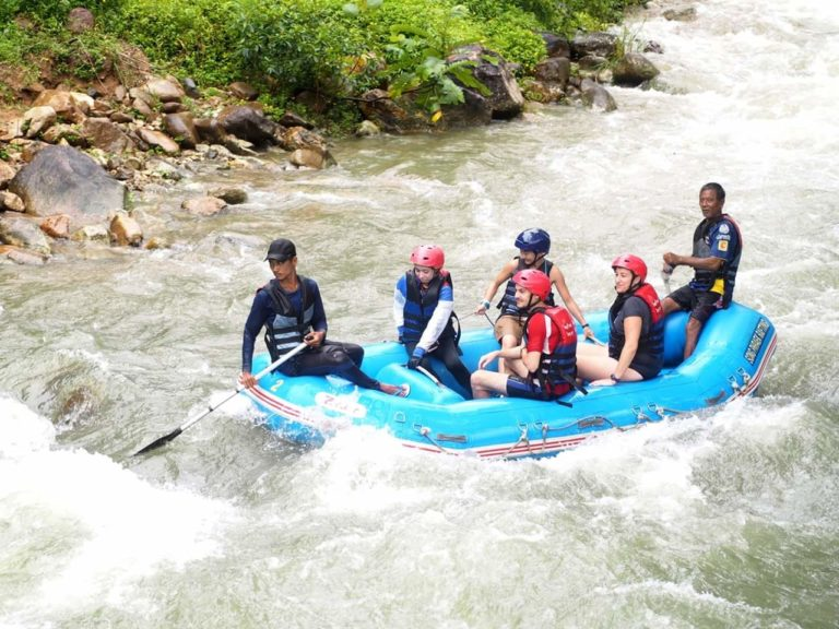 Rafting 5 km + Tirolina + Quads + Paseo en la jungla, Cascadas… (Phang Nga)