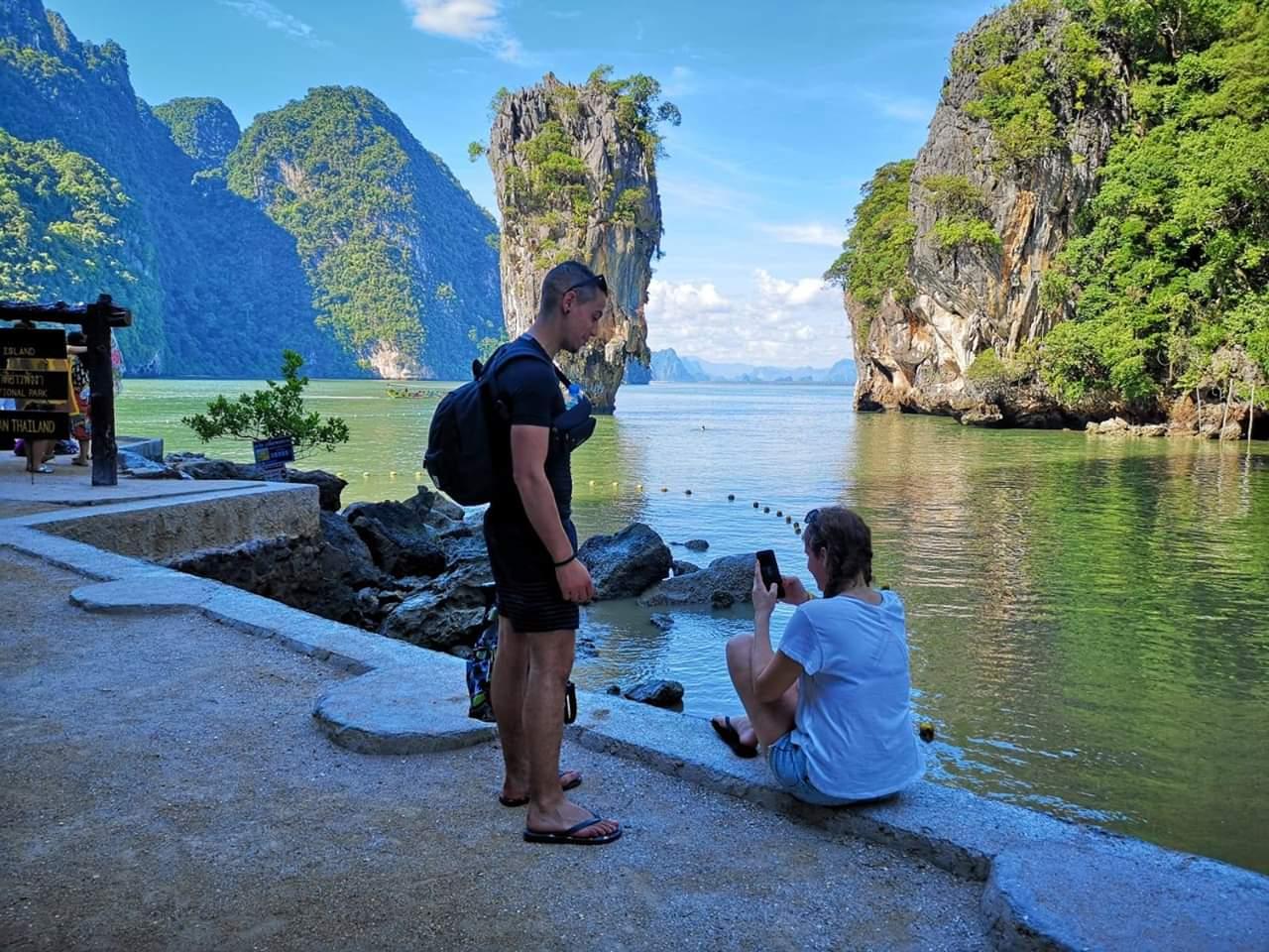 James Bond/ Bahía de Phang Nga Bay en Speedboat