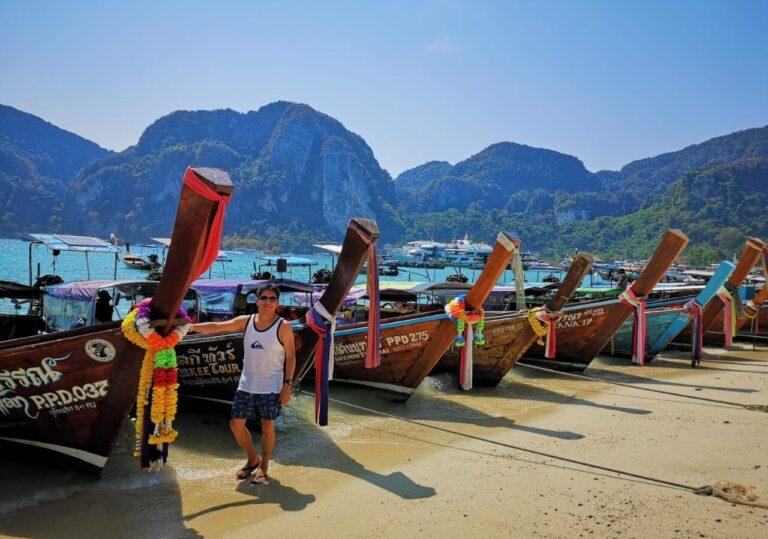Islas Phi Phi y Khai Isla en lancha motora, Parque Nacional Incluido (Opción económica)